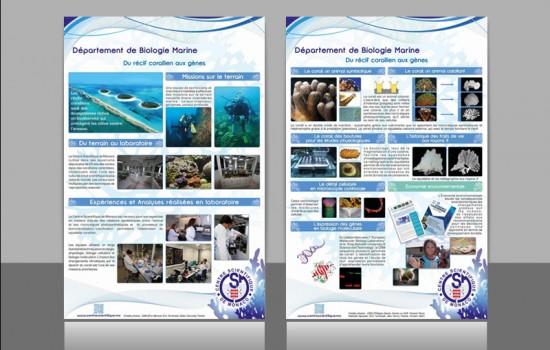 Graphiste | conception d'affiches pour un client à Monaco