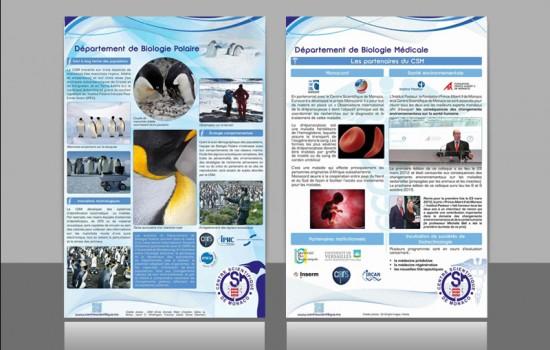 Graphiste | édition d'affiches en vue de l'exposition d'un client prévue sur Monaco